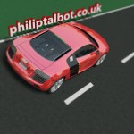 Image of 3D model of Audi R8